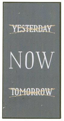 "Ib Laursen Magnet ""Yesterday now tomorrow"""